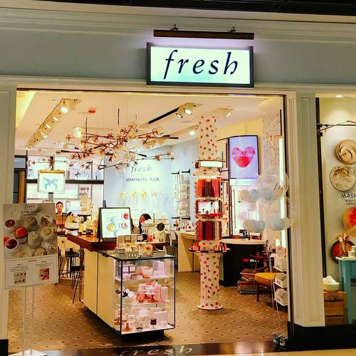 Fresh beauty store in Hong Kong.