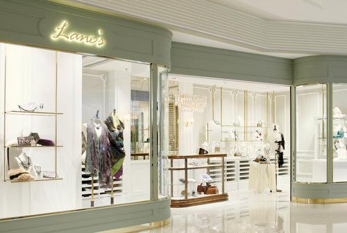Lane's shop at Elements mall in Hong Kong.