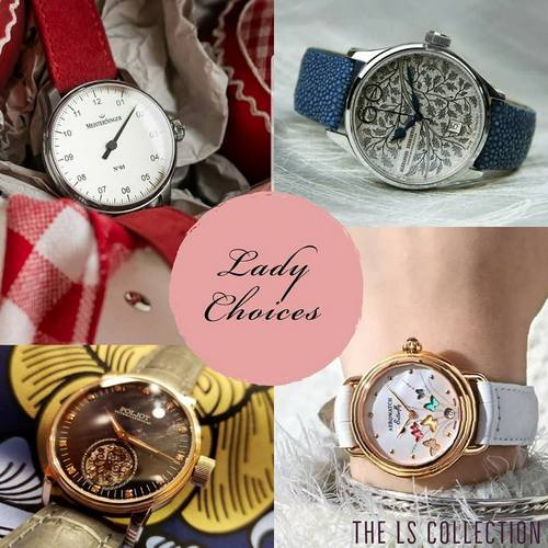 LS Collection women's watches, available in Hong Kong.
