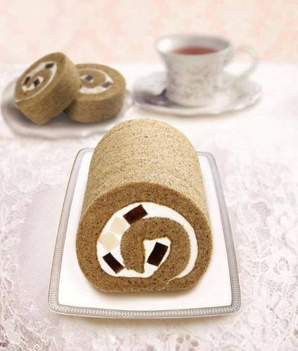 Saint Honore Cake Shop's roll cake, available in Hong Kong.